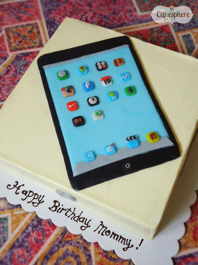 iPad Mini Cake