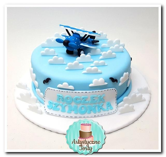 Sweet Airplane Cake