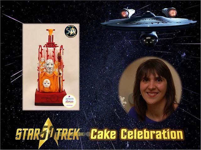 "Star Trek 50 - Cake Celebration ""Into the Darkness"""
