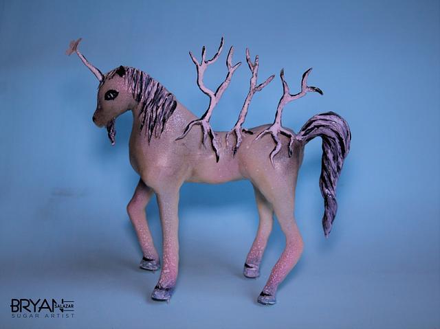 The Happy Unicorn - Dali in Sugar Collab