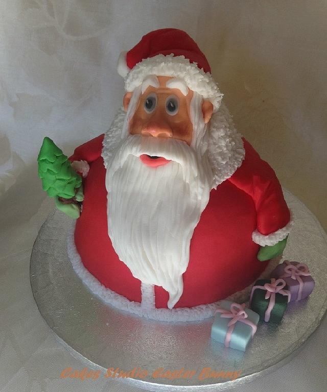 My Santa cake