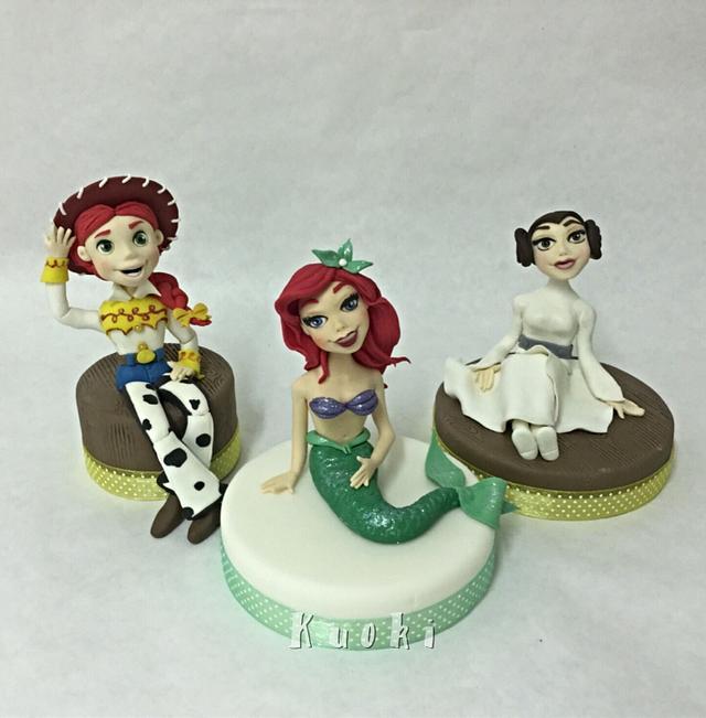 The princesses