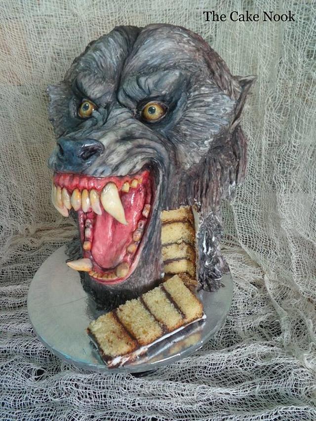 American Werewolf In London cake