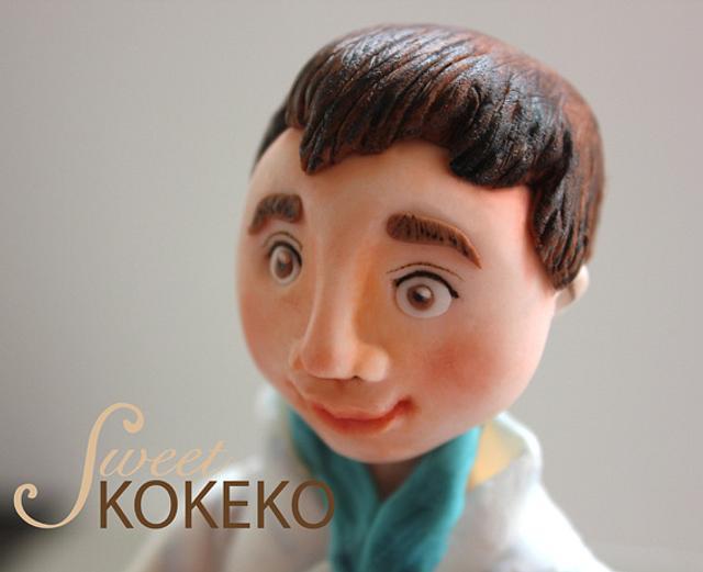 Karate Boy Topper