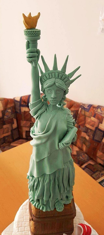 The beautiful New York lady