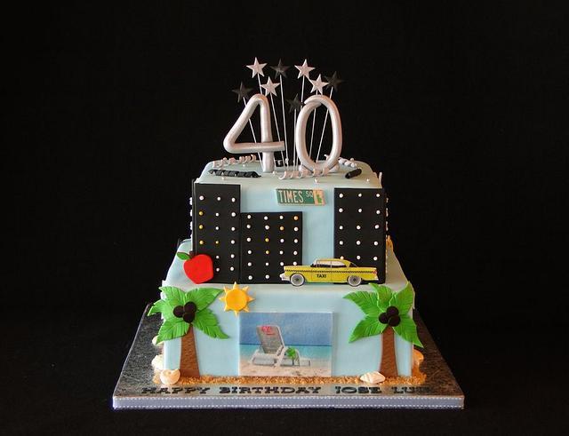 New York/Florida Cake