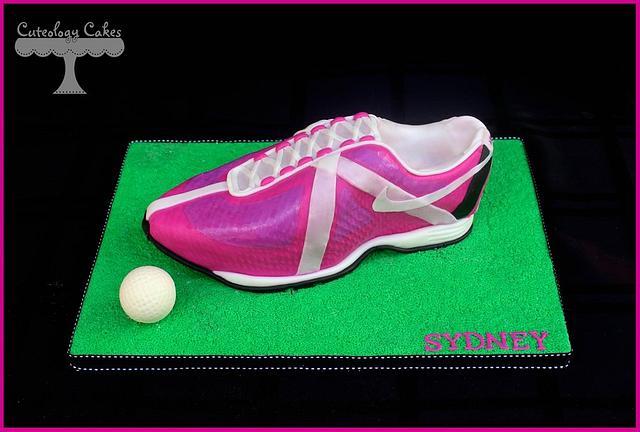 Golf Shoe Cake