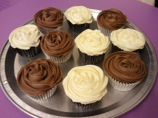 Chocolate Fudge and Carrot Cupcakes