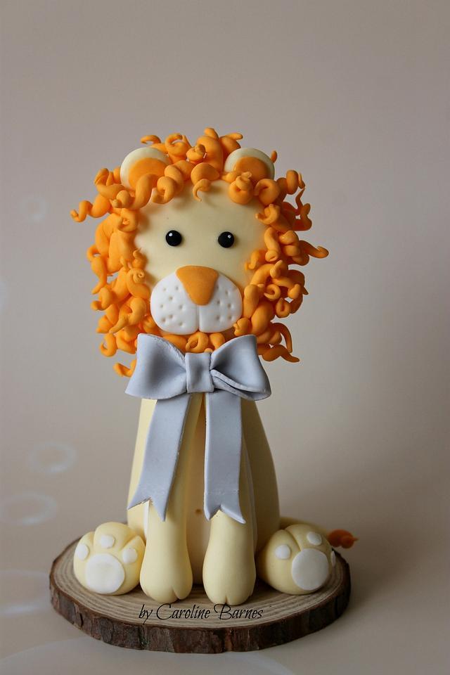 Lion Cake Topper