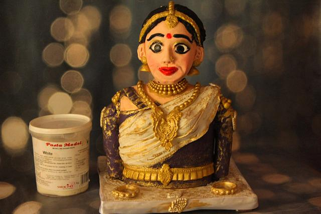 Tamil Bride Chocolate Bust