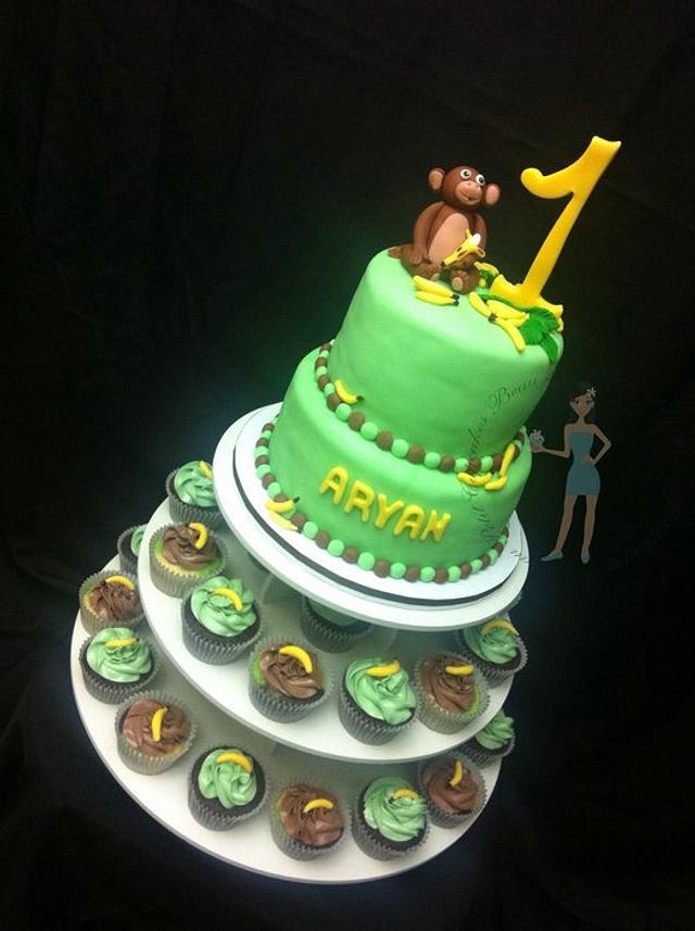 First Birthday Monkey