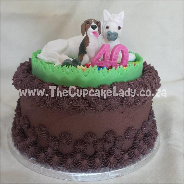A Beagle and a Pony