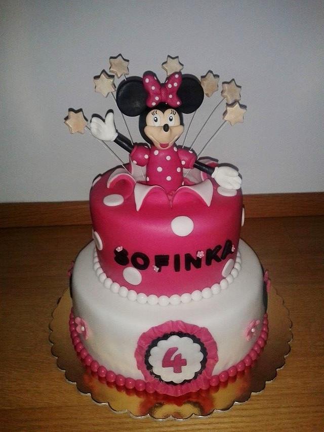 Minnie cake for small Sophia girl