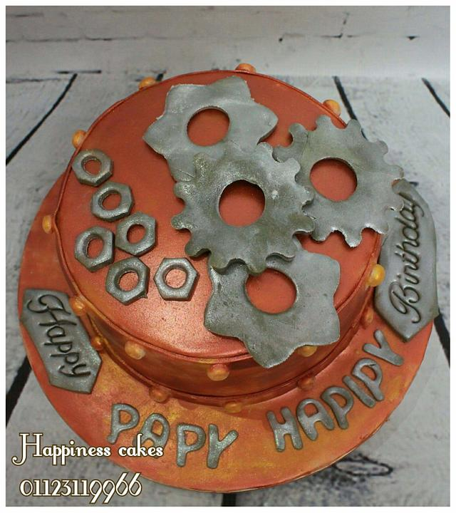 Mechanical engineer cake