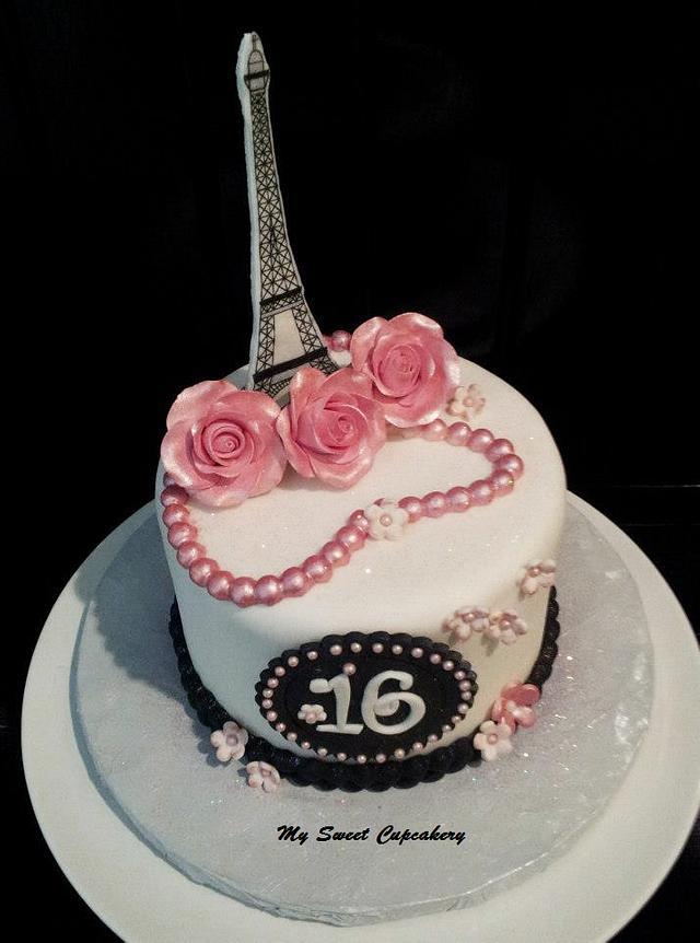 Sweet 16 Paris Theme