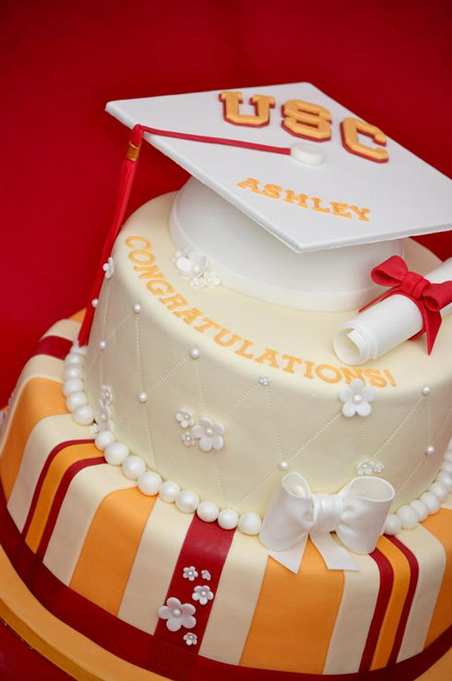 USC Graduation Cake
