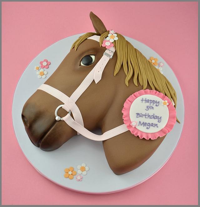 Surprising Horse Birthday Cake Cake By Sandra Monger Cakesdecor Funny Birthday Cards Online Necthendildamsfinfo