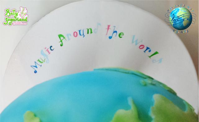 Music Around the World - Cake Notes
