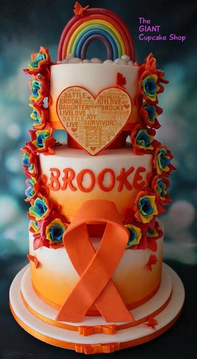 End of Treatment Celebration Cake