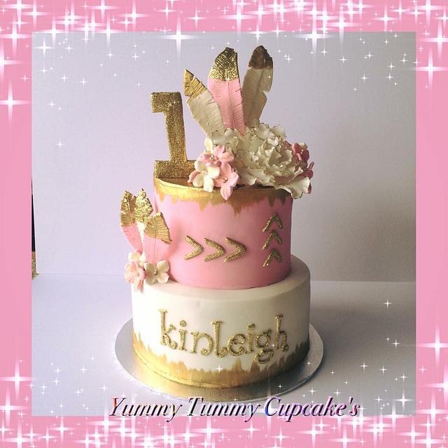 1st Birthday Cake