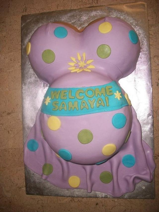 Preggo Belly Cake