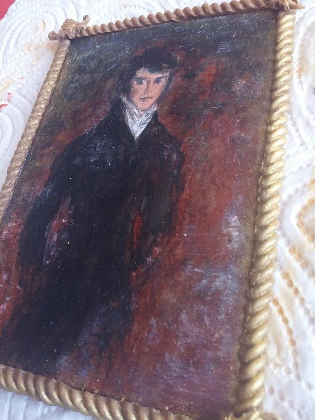 Portrait Mr Darcy of Pride and prejudice