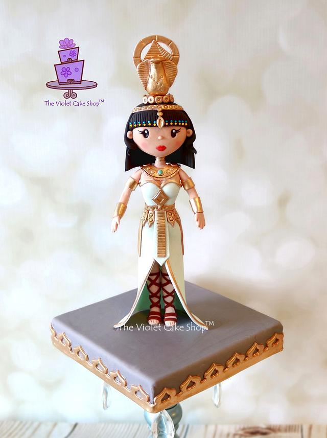 ZAHRA - Egyptian Warrior Princess for Sugar Dolls Collaboration