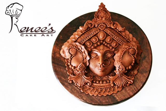 MAA DURGA -Modelling Chocolate