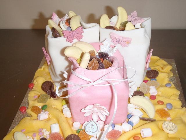 Sweet treats Birthday cake