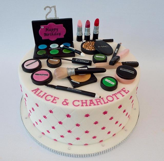 """""""MAC Makeup Cake"""""""