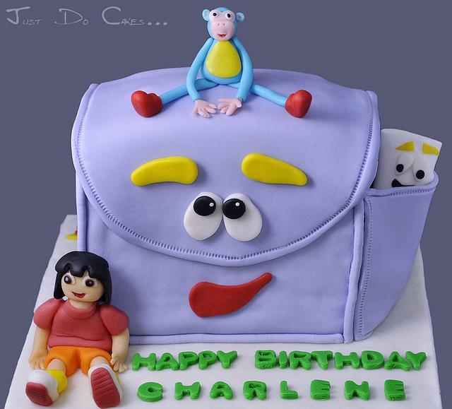 Wondrous Dora Cake Cake By Charina Cakesdecor Birthday Cards Printable Benkemecafe Filternl