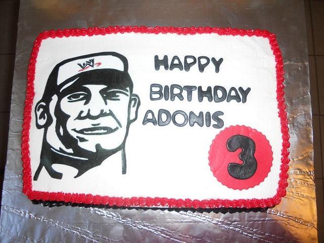 Wondrous John Cena Cake Cake By Yourebakingmecrazy Cakesdecor Personalised Birthday Cards Veneteletsinfo