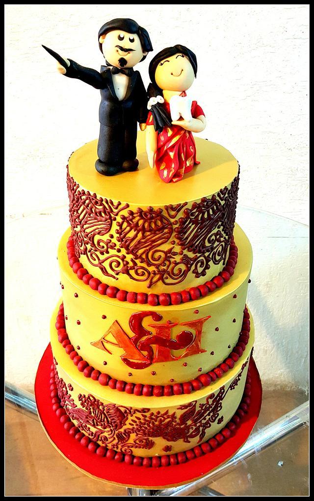 Mehendi cake!