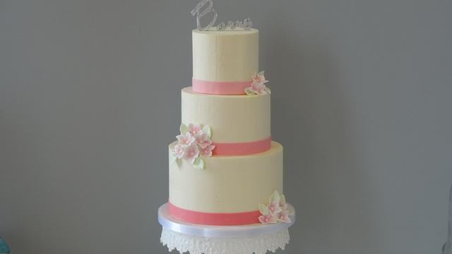 First wedding cake of the season