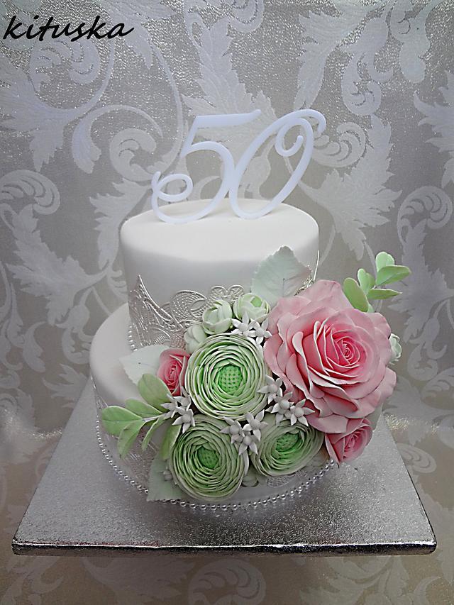 birthday cake for 50
