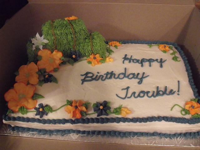 Birthday cake for a Farm Lady