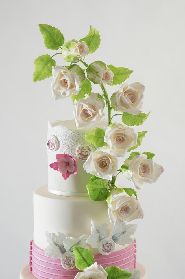 Zuhair Murad Fashion Inspired Cake Collaboration
