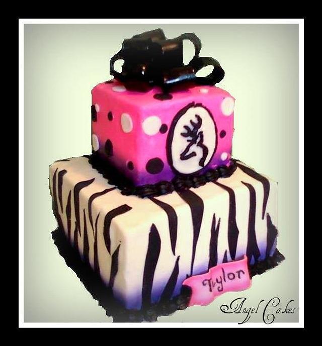 Girl meets Browning Birthday Cake