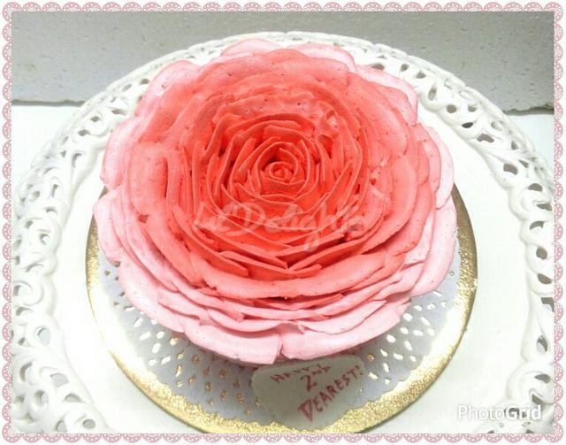 Rose cake !