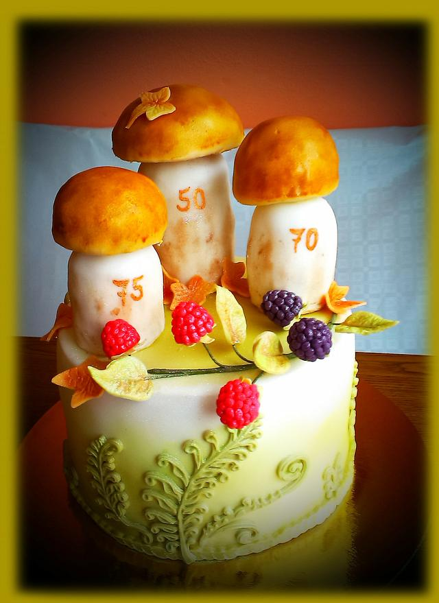 For gold wedding anniversary, 70th and 75th birthday together...