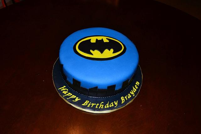 Terrific Batman Birthday Cake Cake By Delanis Delights Cakesdecor Personalised Birthday Cards Veneteletsinfo