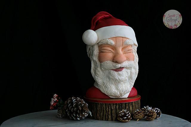 Sculpted Santa