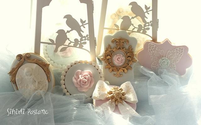 Romantic Birdcage Cake