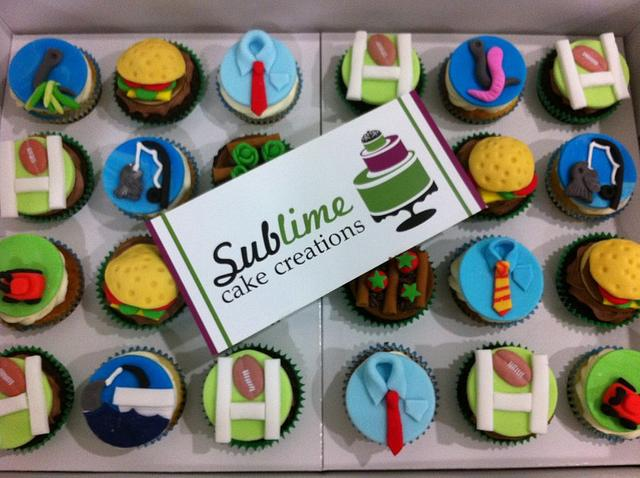 Fathers Day Cupcakes Cake By Sublime Cake Creations Cakesdecor