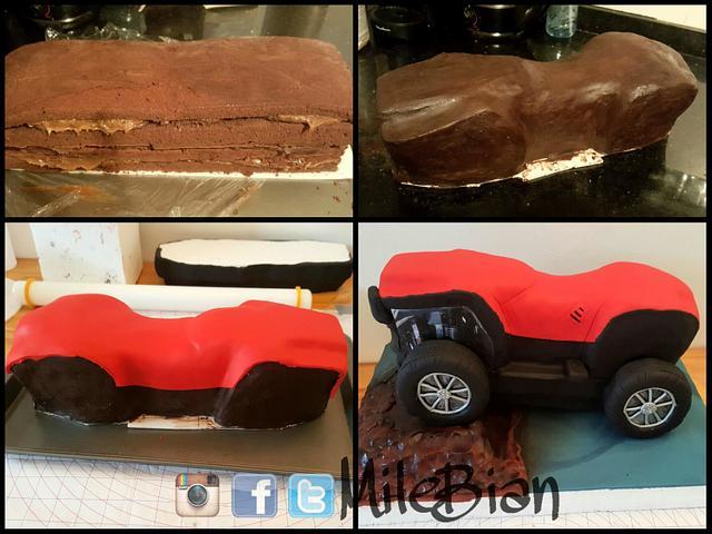 ATV cake