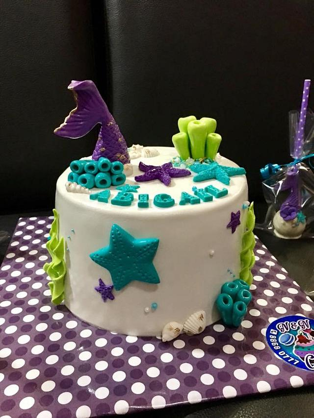 Mermaid themed Birthday Abigail
