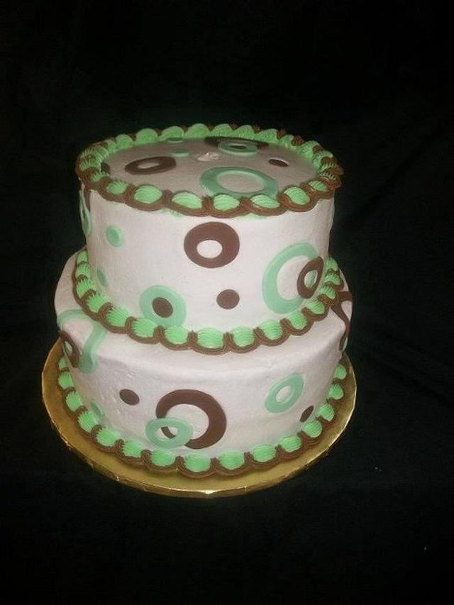 Green and Brown Birthday