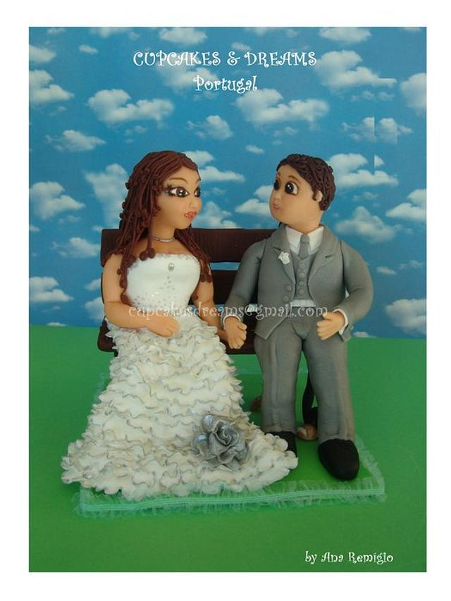 MY FIRST WEDDING TOPPER