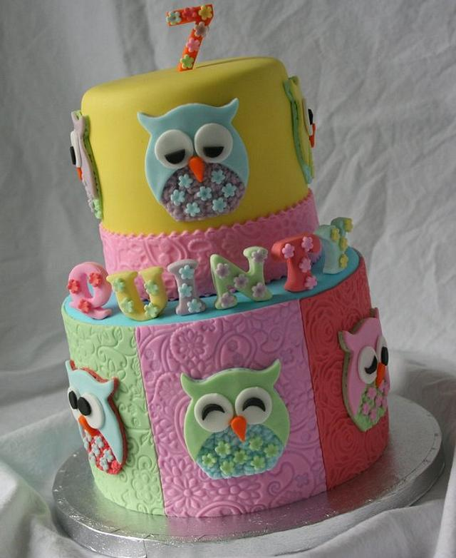 Owls and pastels