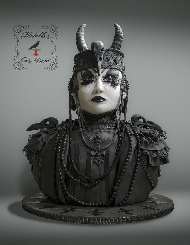 collaboration Sugar Myths and Fantasies Global Edition: Victor, Goth Creature of the night